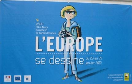 Angouleme 2012 - European Exhibition