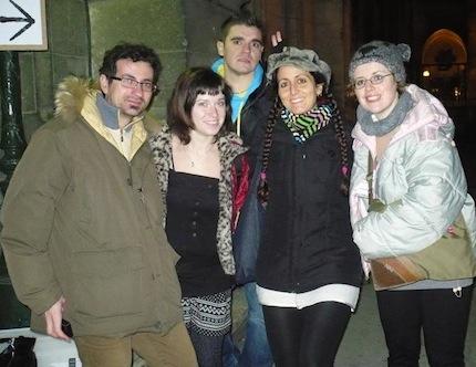 Francesca Mancuso and the Italian team, Angouleme 2012