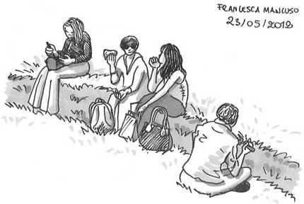 Francesca Mancuso - lunchtime doodle