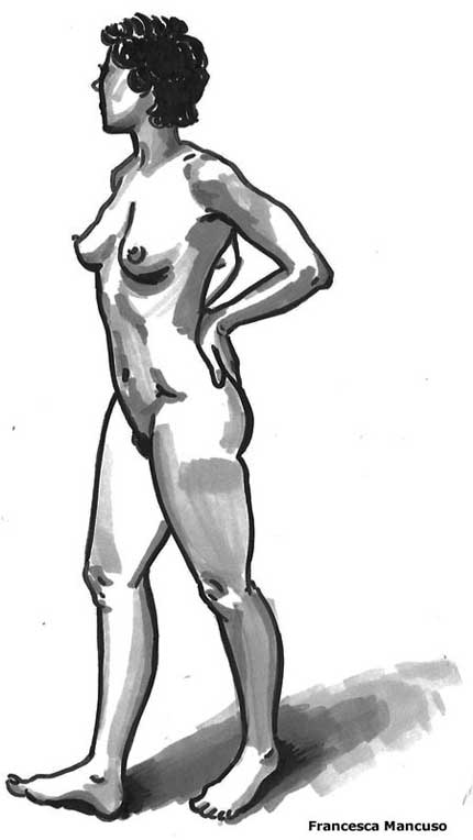 Life Drawing 24 April 2012
